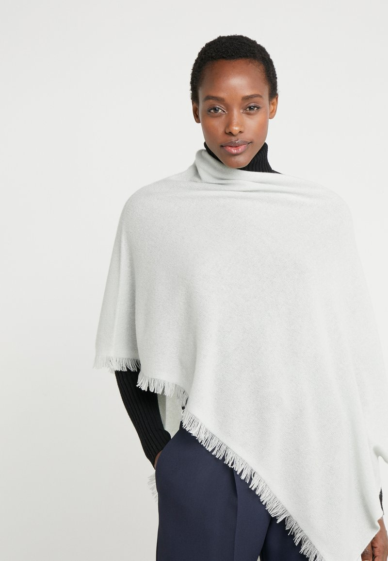 Repeat - PLAIN PONCHO - Poncho - jade