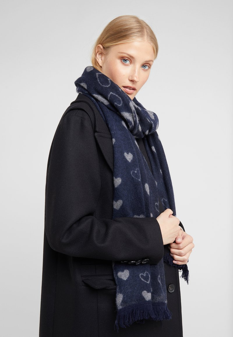 Repeat - SCARF - Scarf - navy