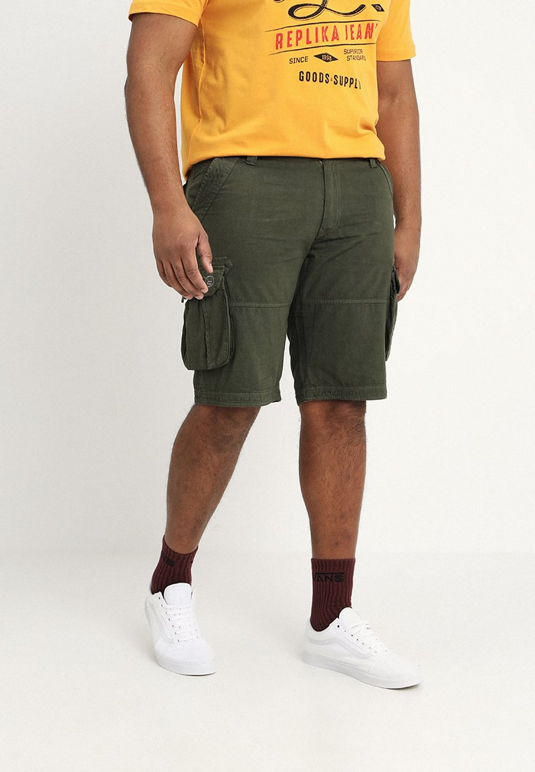 Replika - Shorts - grün