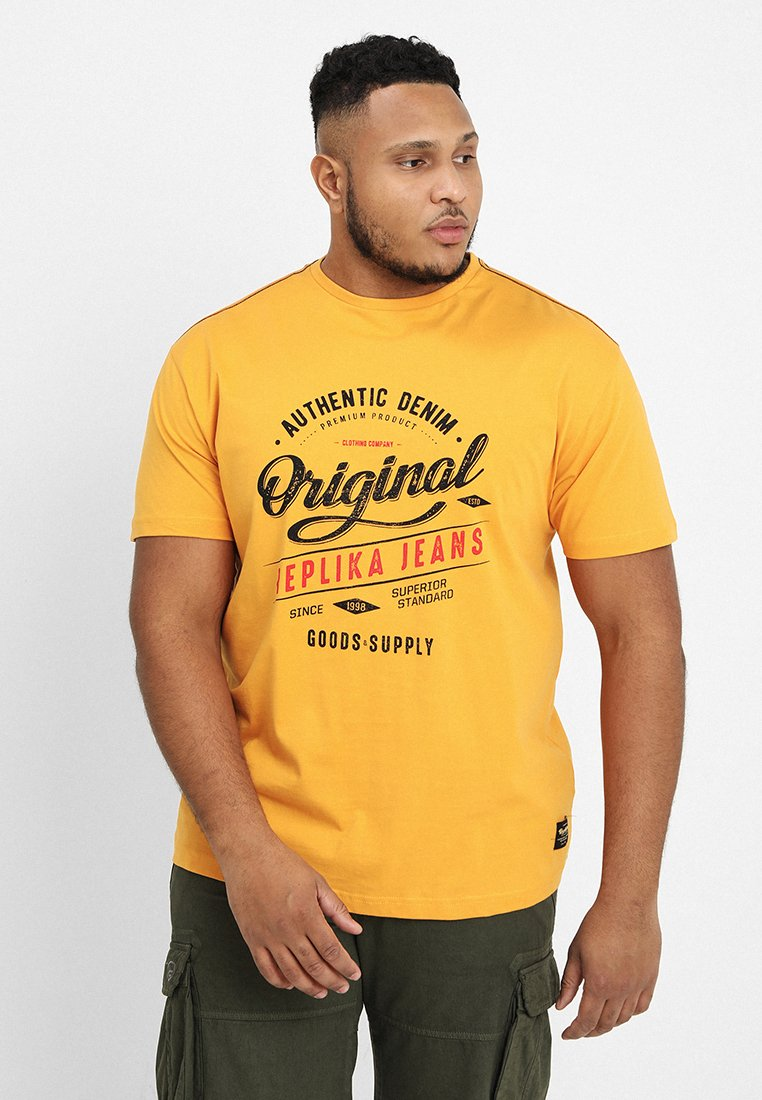 Replika - Print T-shirt - yellow