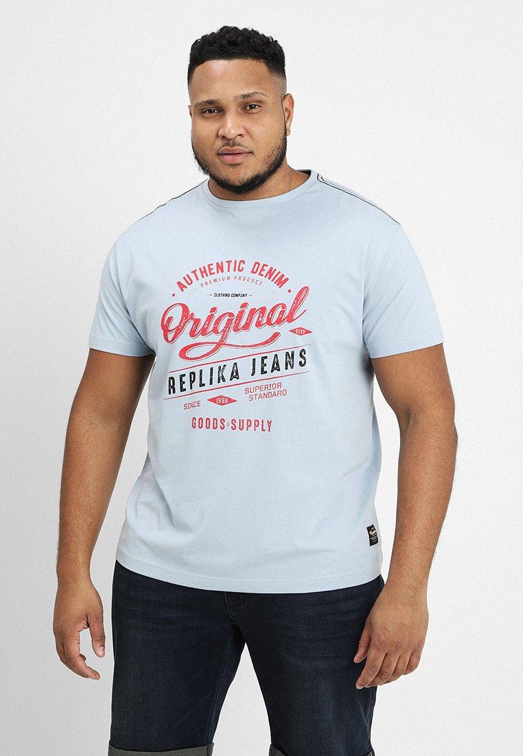 Replika - Print T-shirt - türkis