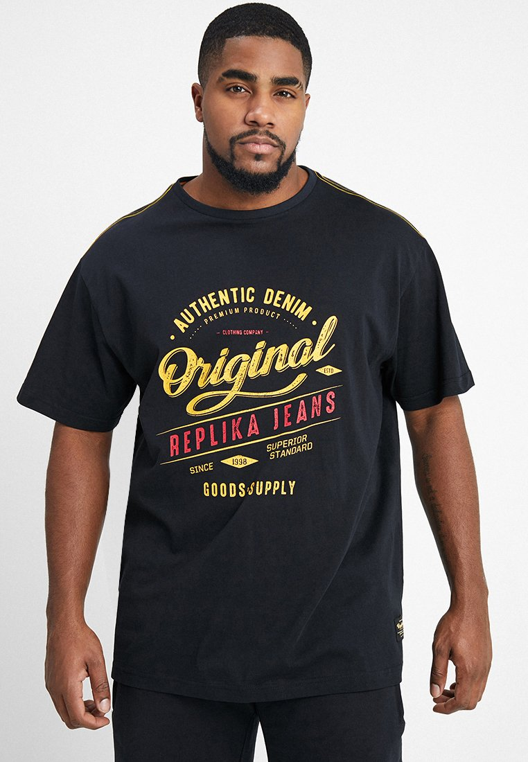 Replika - Print T-shirt - black