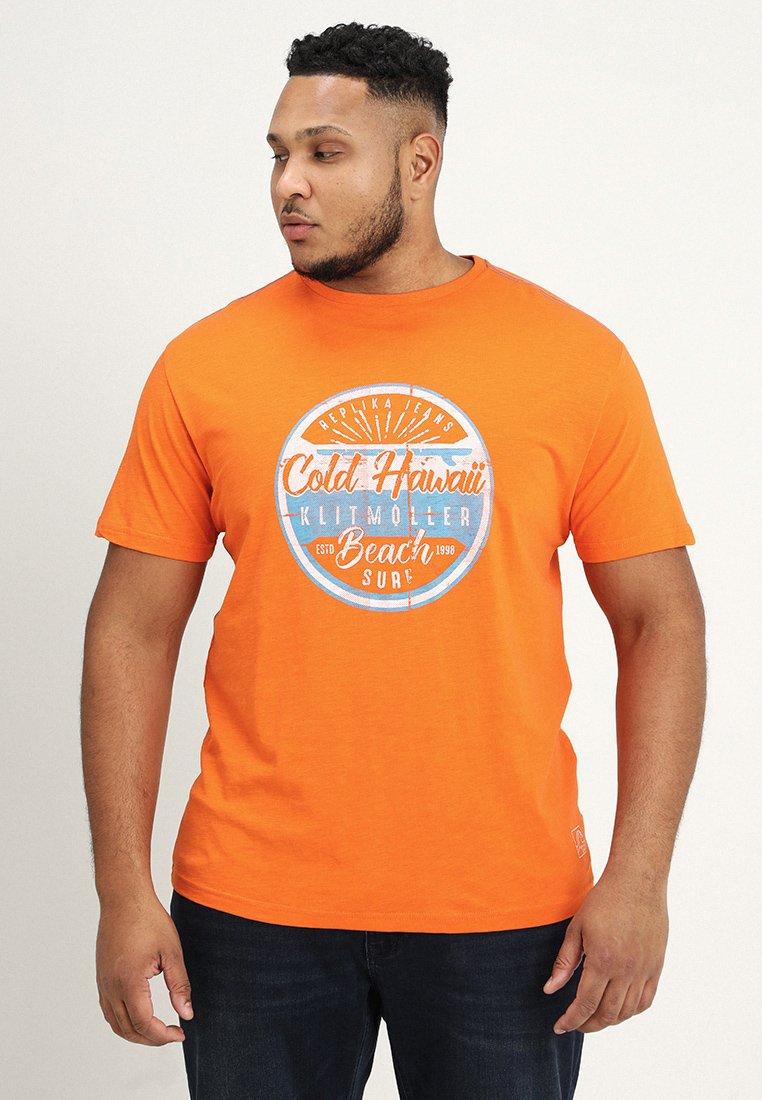 Replika - Camiseta estampada - orange