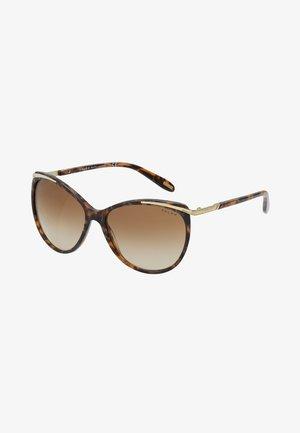 Sunglasses - brown murble