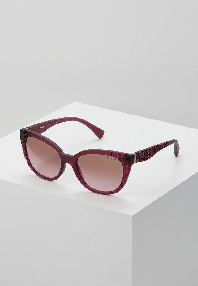 Sonnenbrille - matte pink