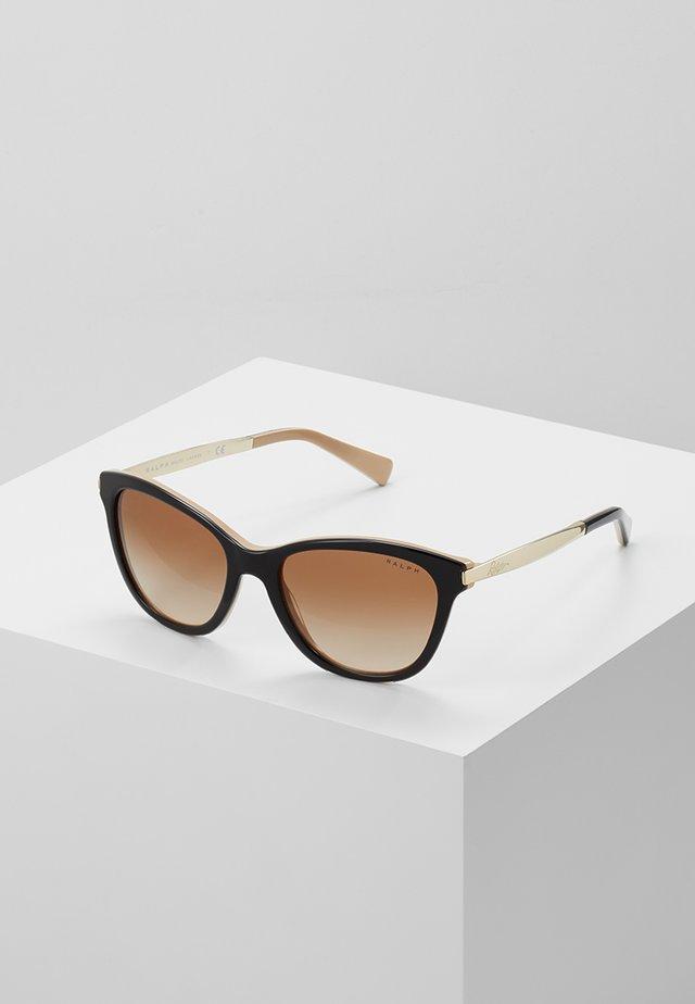 Okulary przeciwsłoneczne - black/nude