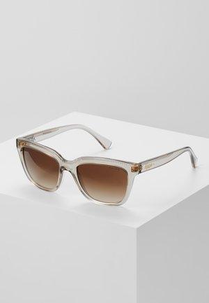 Sonnenbrille - transparent brown
