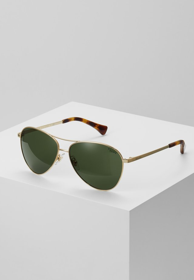 Sonnenbrille - gold-coloured/black