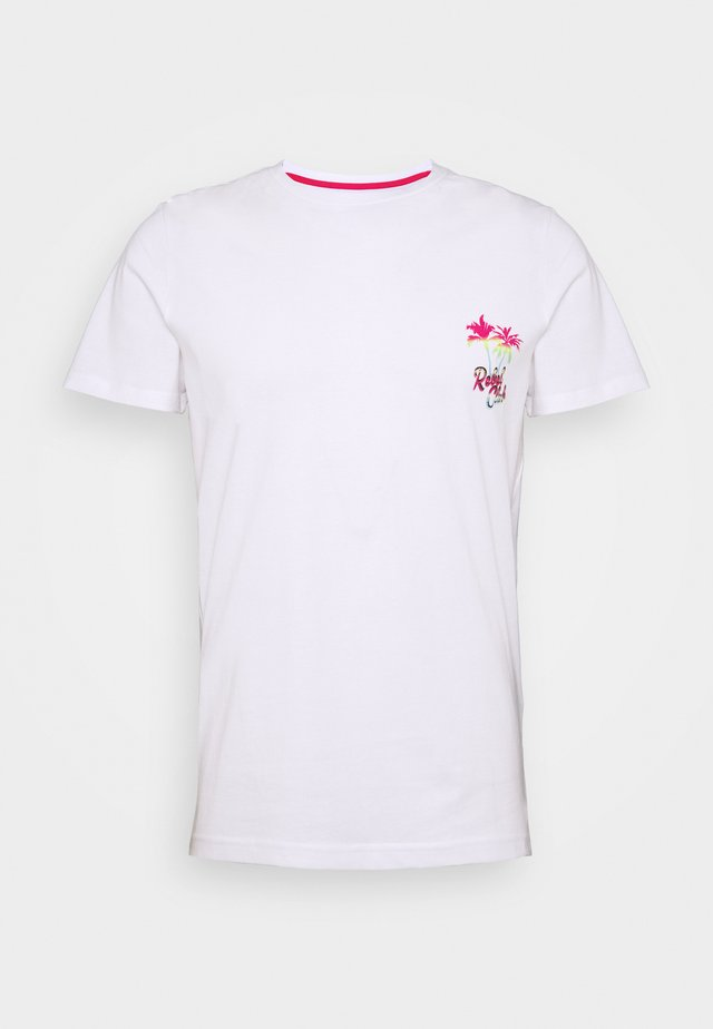 CONNER TEE - T-shirts med print - white