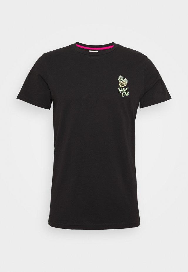 CONNER TEE - T-shirt med print - black