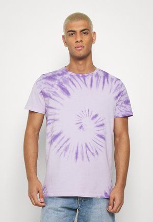 RRCARSON TEE - T-shirts med print - pastel lilac