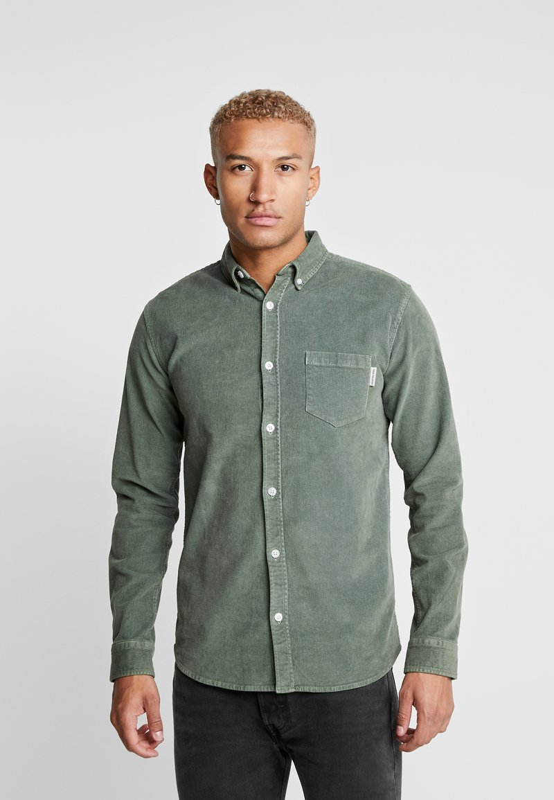 Redefined Rebel - RRPARK  - Shirt - duck green