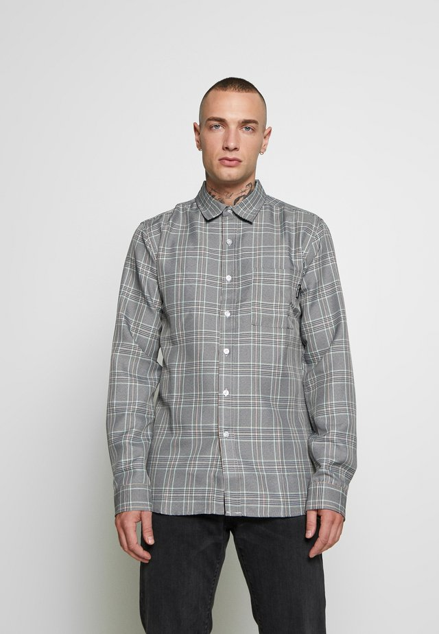 Shirt - grey check