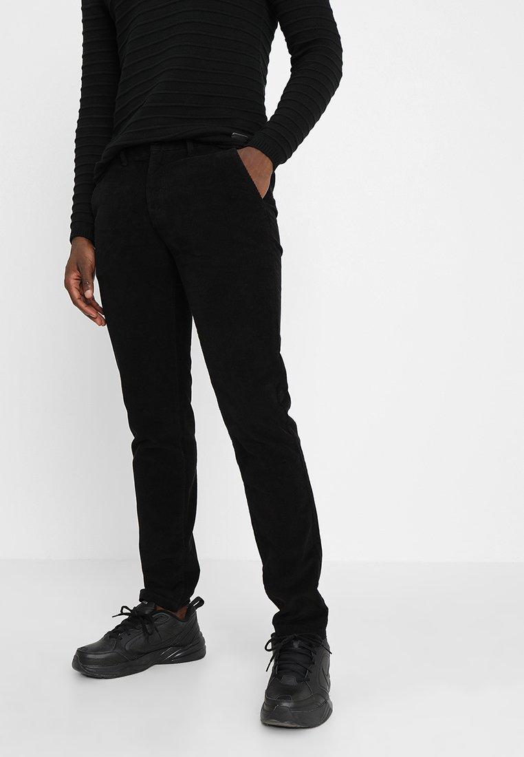 Redefined Rebel - ANTON PANT - Pantalon classique - black