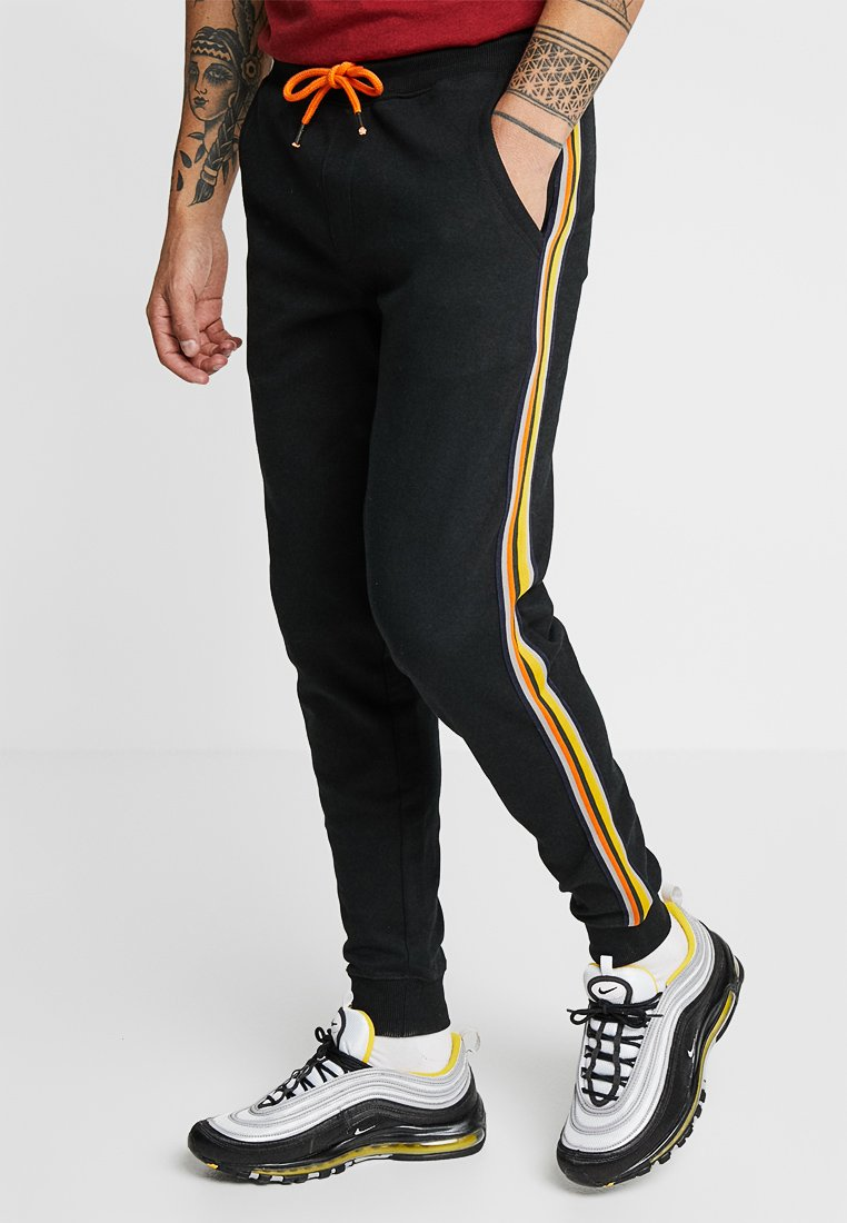 Redefined Rebel - ROBIN PANTS - Tracksuit bottoms - black