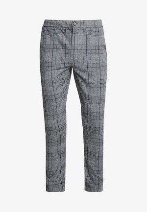 KING PANTS - Pantalon classique - charcoal check