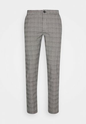 KING PANTS - Pantaloni - grey mustard