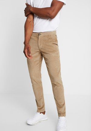 RALPH PANTS - Trousers - dark sand