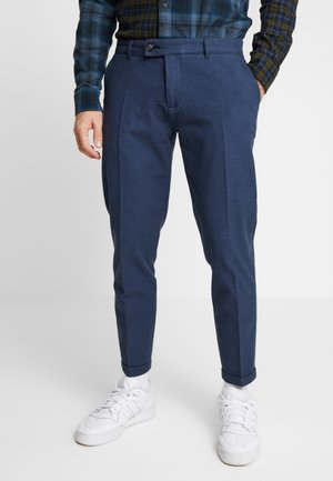 ERCAN PANTS - Trousers - navy