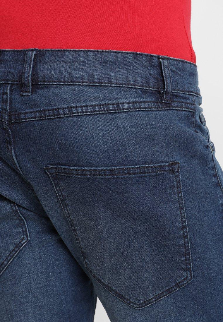 Redefined Rebel OSLO DESTROY - Jeansshorts - ocean blue