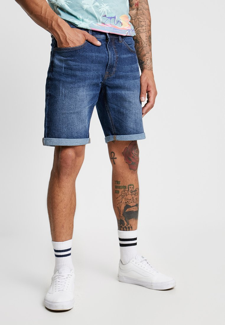 Redefined Rebel - COPENHAGEN - Jeans Shorts - light navy