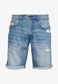 Redefined Rebel - DESTROY  - Denim shorts - soft blue - 3