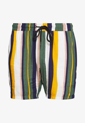 RICK - Szorty - duck green stripe