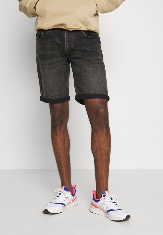 COPENHAGEN - Jeans Shorts - black rock