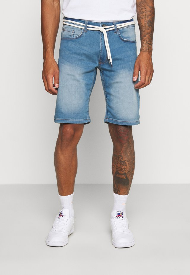 SYDNEY TERRY  - Jeans Shorts - skyway blue