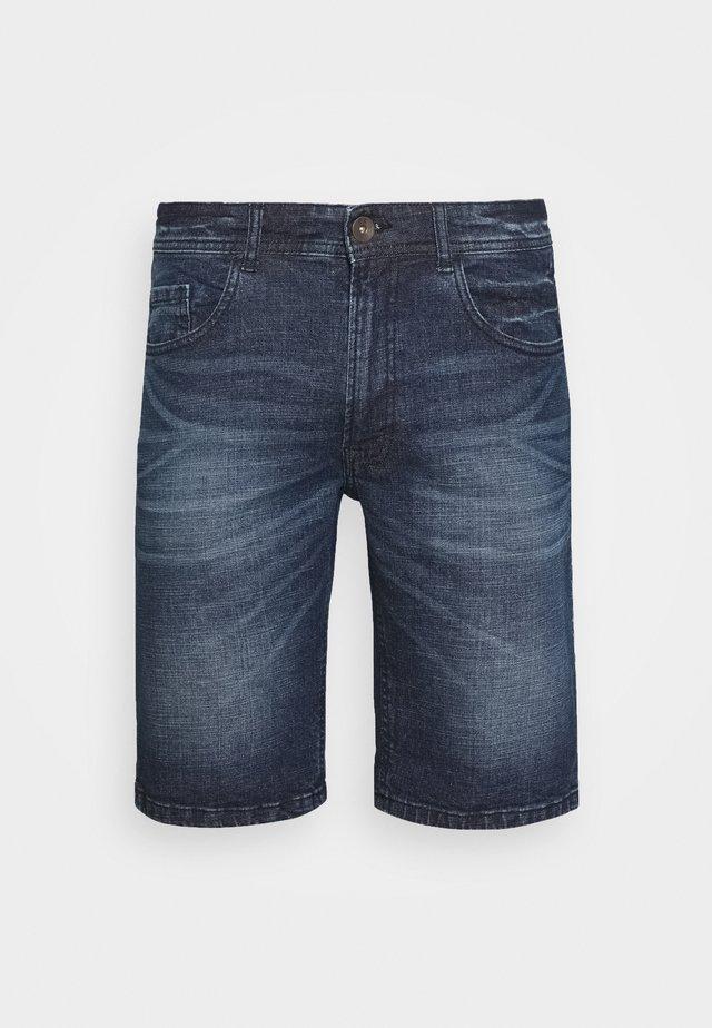 COPENHAGEN - Jeans Short / cowboy shorts - atlantic blue