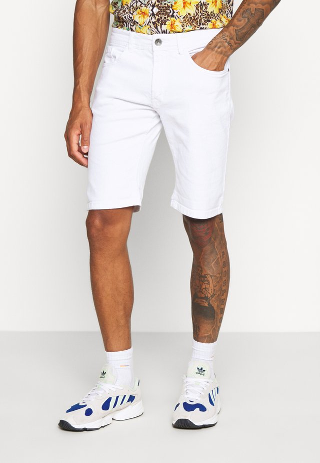 RRCOPENHAGEN  - Denim shorts - white