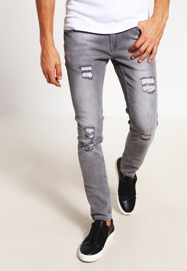 Redefined Rebel - STOCKHOLM - Jeans Skinny Fit - light grey