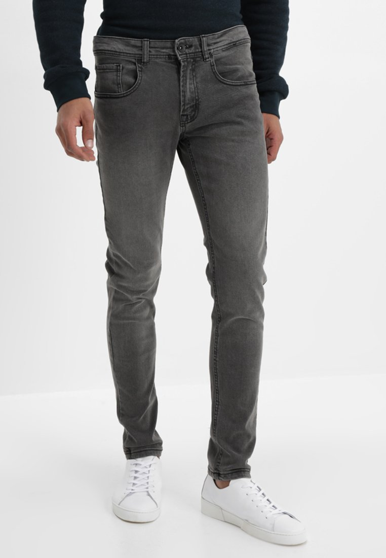 Redefined Rebel - COPENHAGEN - Slim fit jeans - black grey