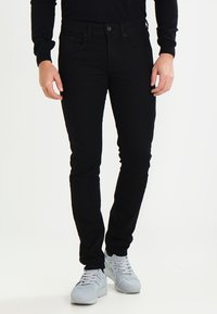 Redefined Rebel - COPENHAGEN - Džíny Slim Fit - deep black - 0