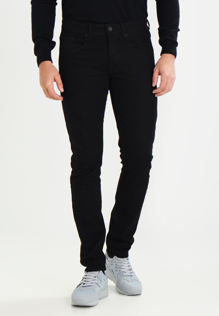 Redefined Rebel - COPENHAGEN - Vaqueros slim fit - deep black
