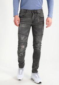Redefined Rebel - STOCKHOLM WORKER - Skinny džíny - black/grey - 0