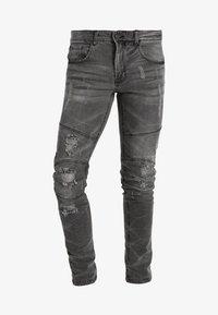 Redefined Rebel - STOCKHOLM WORKER - Skinny džíny - black/grey - 5