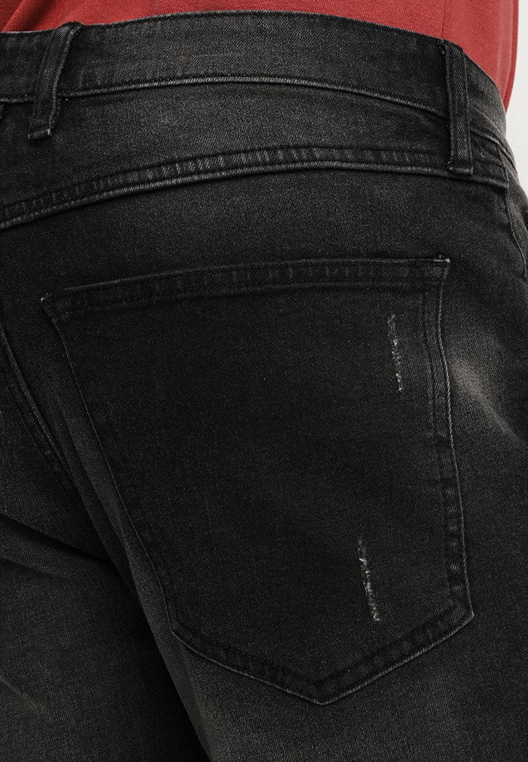 Redefined Rebel FLORENCE - Jeansy Slim Fit - black stone