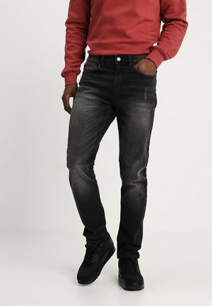 FLORENCE - Slim fit jeans - black stone