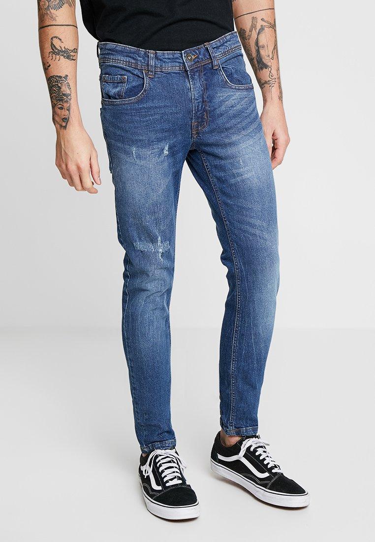 Redefined Rebel - COPENHAGEN DESTROY - Jeans Skinny Fit - mosaic blue