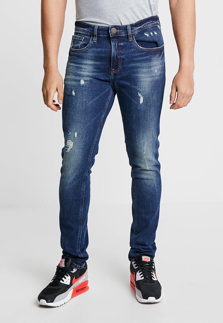 Redefined Rebel - MILANO DESTROY - Jeans Tapered Fit - true blue