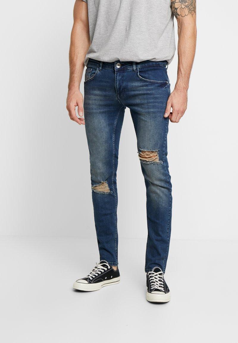 Redefined Rebel - STOCKHOLM  - Slim fit jeans - mining blue