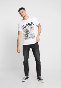 Redefined Rebel - COPENHAGEN - Jeans slim fit - black rock - 1