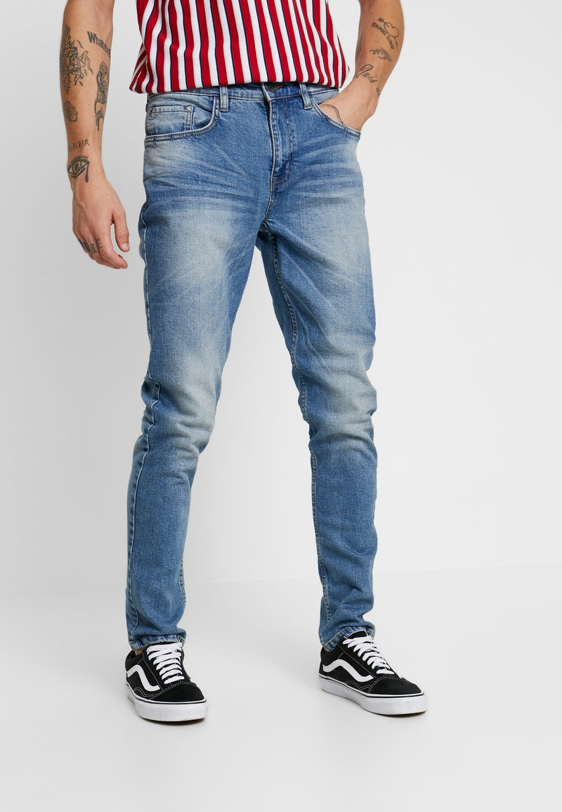 Redefined Rebel - FLORENCE - Džíny Slim Fit - polar blue