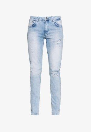 STOCKHOLM DESTROY - Jeans Skinny - cool blue