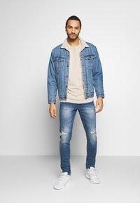 Redefined Rebel - RRSTOCKHOLM DESTROY - Jeans Skinny Fit - perfect indigo - 1