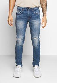 Redefined Rebel - RRSTOCKHOLM DESTROY - Jeans Skinny Fit - perfect indigo - 0