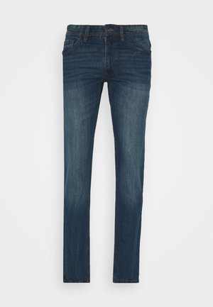 RRNEW YORK - Jeansy Slim Fit - mid blue