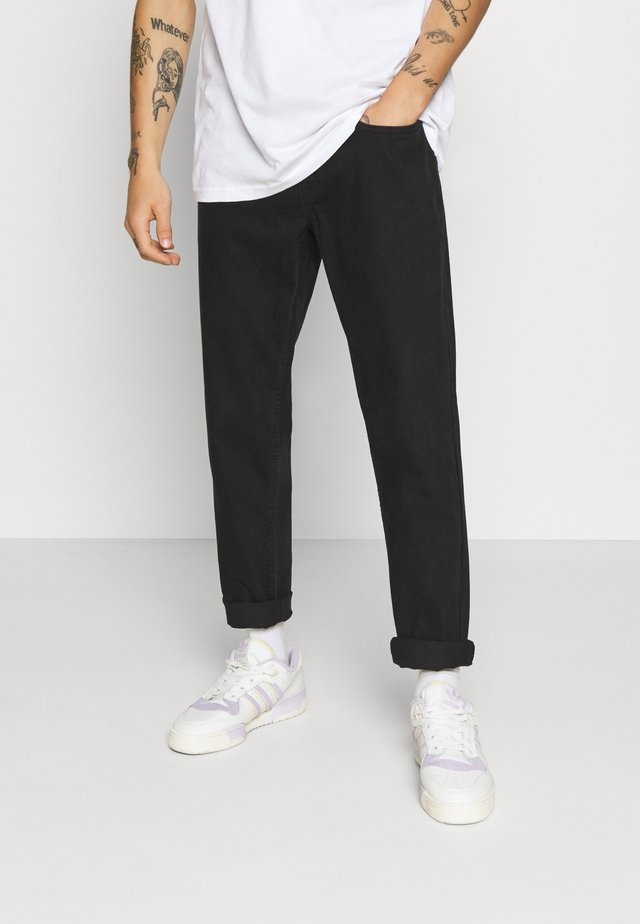 MONACO - Jeans Tapered Fit - black grey