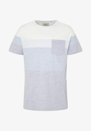 DEXTER TEE - Print T-shirt - turkish sea